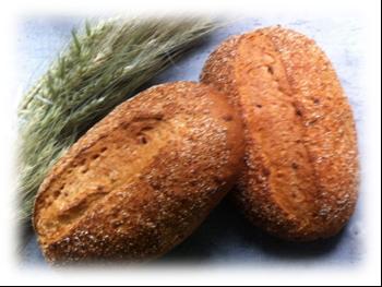 Бездрожжевой хлеб на ржаной муке и ржаной закваске